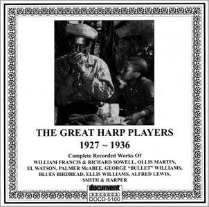 VA - The Great Harp Players 1927-1936 (1992) Reissue 2007