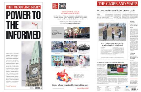The Globe and Mail – October 18, 2019