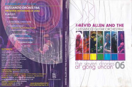 Daevid Allen and The Glissando Guitar Orchestrae - The Seven Drones at Gong Uncon 06 (2008)