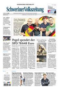 Schweriner Volkszeitung Hagenower Kreisblatt - 05. Juni 2018