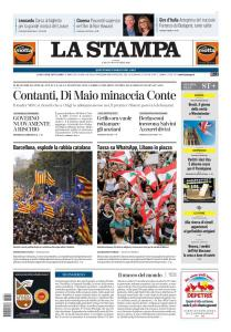 La Stampa Torino Provincia e Canavese - 19 Ottobre 2019