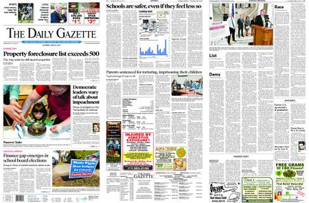 The Daily Gazette – April 20, 2019
