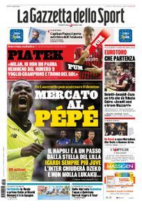 La Gazzetta dello Sport Roma – 26 luglio 2019