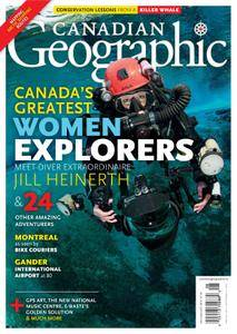 Canadian Geographic - July 2016