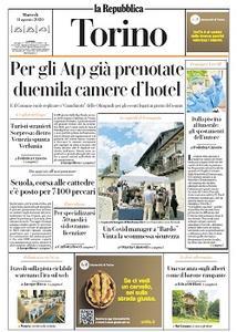 la Repubblica Torino - 11 Agosto 2020