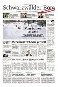 Schwarzwälder Bote Hechingen - 11. Januar 2018