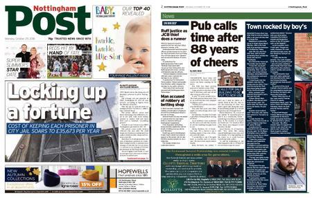 Nottingham Post – October 29, 2018