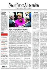 Frankfurter Allgemeine Zeitung F.A.Z. - 13. März 2018