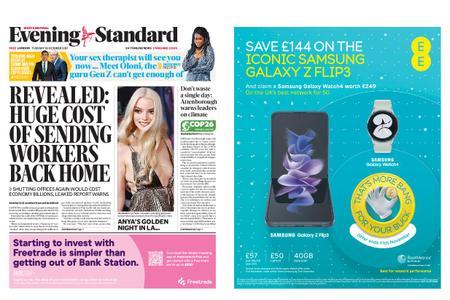London Evening Standard – October 26, 2021