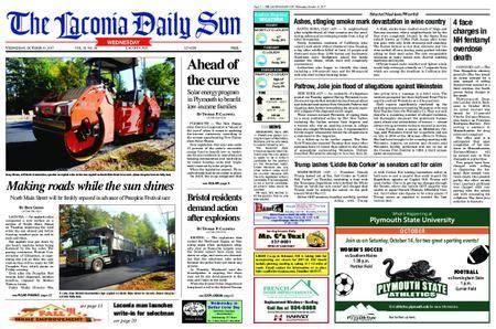 The Laconia Daily Sun – October 11, 2017