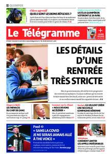 Le Télégramme Quimper – 23 avril 2021