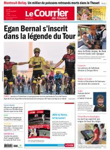 Le Courrier de l'Ouest Angers – 29 juillet 2019
