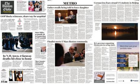 The Boston Globe – February 01, 2020
