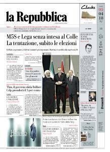 la Repubblica - 5 Aprile 2018