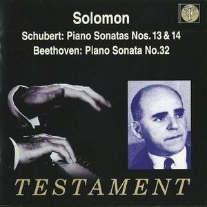 Solomon Cutner - Schubert: Piano Sonatas Nos.13 & 14, Beethoven: Piano Sonata No.32 (2002)