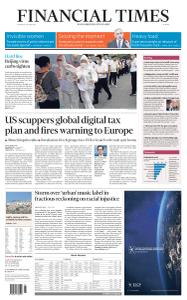 Financial Times Europe - June 18, 2020