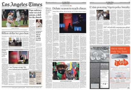Los Angeles Times – October 22, 2020