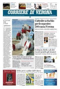 Corriere di Verona - 24 Dicembre 2017