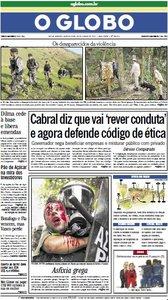 Jornal O Globo - 30 de junho de 2011