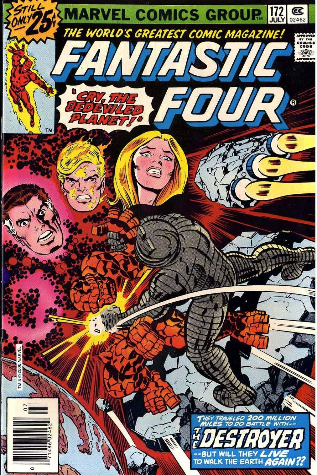 Fantastic Four v1 172 (Marvel DVD Collection)