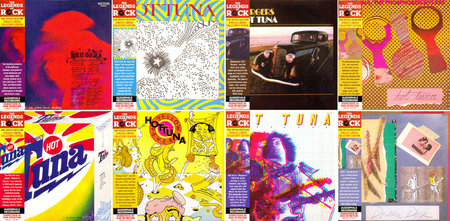 Hot Tuna - 8 Albums 1970-1978 Remastered Reissue 2012, Deluxe Vinyl Replicas, 9CDs [Re-Up]