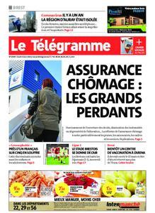 Le Télégramme Brest – 04 mars 2021