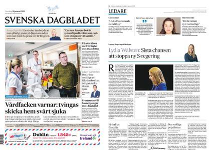 Svenska Dagbladet – 10 januari 2019