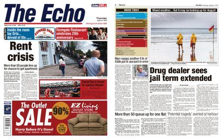 Evening Echo – August 01, 2019