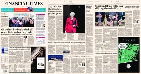 Financial Times Europe – 14 November 2017