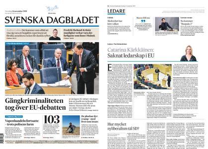 Svenska Dagbladet – 14 november 2019