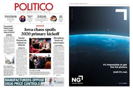 Politico – February 05, 2020