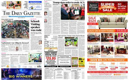 The Daily Gazette – October 13, 2017