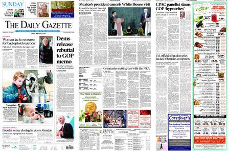 The Daily Gazette – February 25, 2018