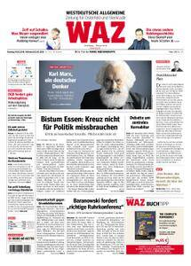 WAZ Westdeutsche Allgemeine Zeitung Oberhausen-Sterkrade - 01. Mai 2018