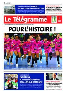 Le Télégramme Brest Abers Iroise – 30 mai 2021