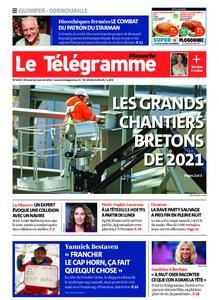 Le Télégramme Ouest Cornouaille – 03 janvier 2021