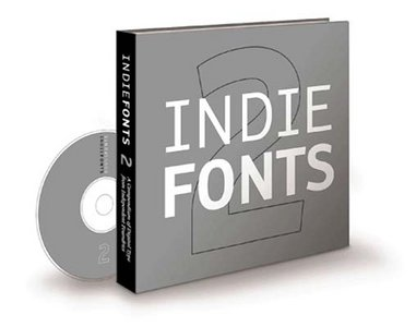 Indie Fonts 2 (Book and CD)