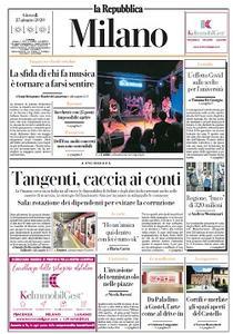 la Repubblica Milano - 25 Giugno 2020