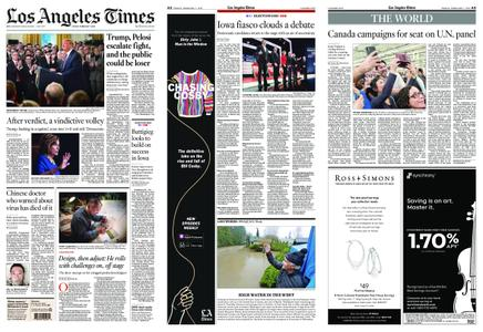 Los Angeles Times – February 07, 2020