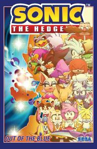 IDW-Sonic The Hedgehog Vol 08 Out Of The Blue 2021 Hybrid Comic eBook