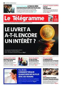 Le Télégramme Concarneau – 17 janvier 2020