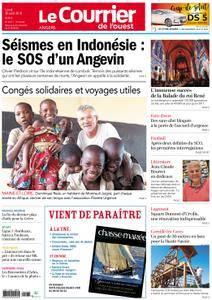 Le Courrier de l'Ouest Angers - 20 août 2018
