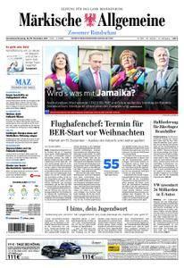 Märkische Allgemeine Zossener Rundschau - 18. November 2017