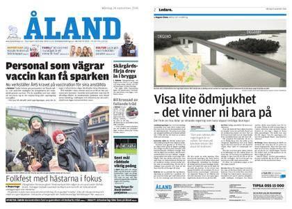 Ålandstidningen – 24 september 2018
