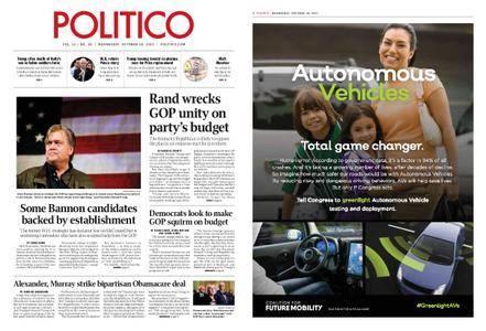 Politico – October 18, 2017