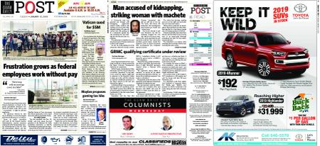 The Guam Daily Post – January 15, 2019