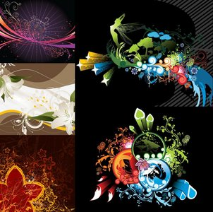 Amazing Vector Backgrounds