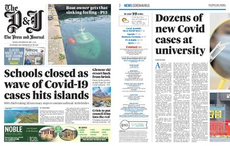 The Press and Journal Moray – September 29, 2020