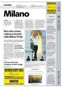 la Repubblica Milano - 18 Giugno 2018