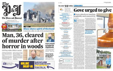 The Press and Journal Moray – July 28, 2020